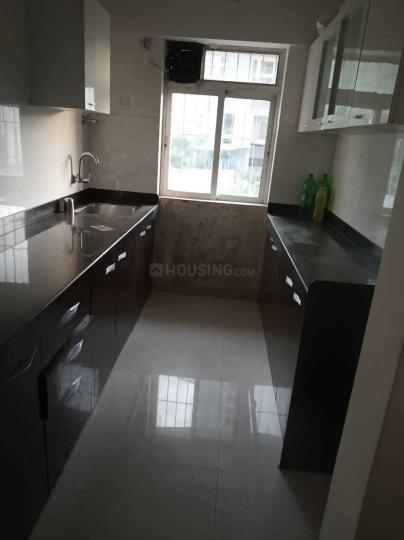 Kitchen Image of 645 Sq.ft 1 BHK Apartment for rent in Shilphata for 12000