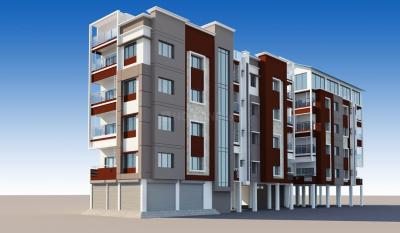 Gallery Cover Image of 1050 Sq.ft 3 BHK Apartment for buy in Baguiati for 3990000