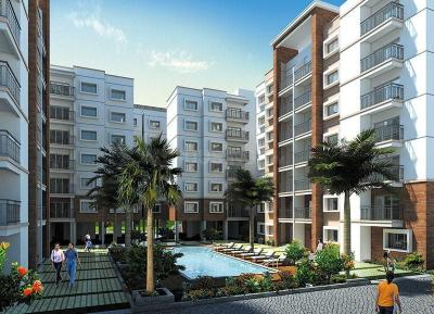 Gallery Cover Image of 1950 Sq.ft 3 BHK Apartment for rent in Prestige Silversun, Bhoganhalli for 45000