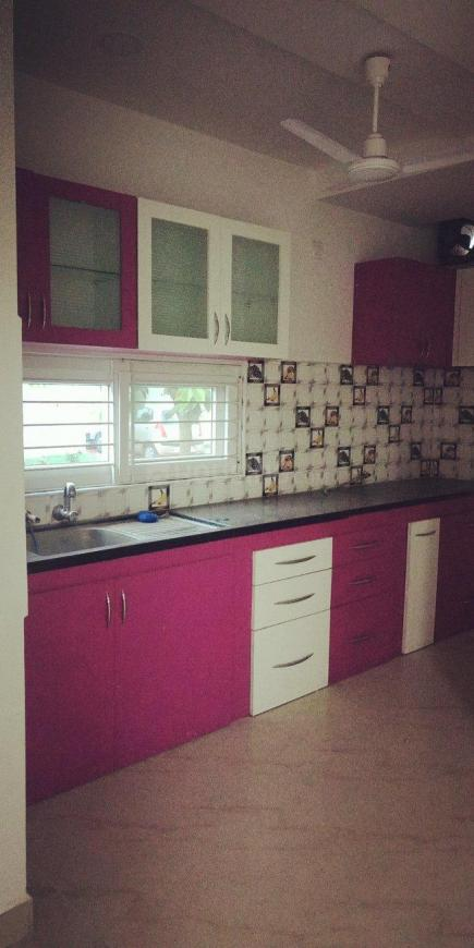 Kitchen Image of 1500 Sq.ft 3 BHK Apartment for rent in Kompally for 16000