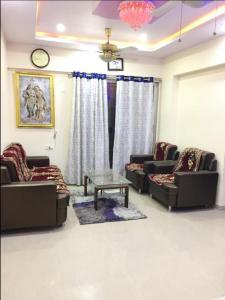 Gallery Cover Image of 534 Sq.ft 1 BHK Apartment for rent in Vijay Galaxy, Thane West for 17000