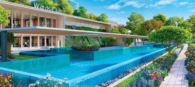 Gallery Cover Image of 1650 Sq.ft 3 BHK Apartment for buy in L And T Seawoods Residences North Towers, Nerul for 27000000
