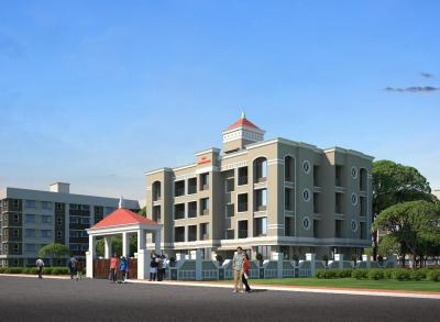 Gallery Cover Image of 500 Sq.ft 1 BHK Independent Floor for buy in Shelu for 1250000