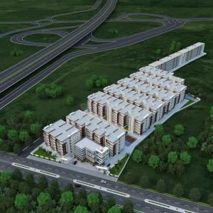 Gallery Cover Image of 1500 Sq.ft 3 BHK Apartment for buy in Bahadurpally for 4125000