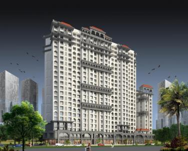 Gallery Cover Image of 1337 Sq.ft 3 BHK Apartment for buy in Thane West for 19000000