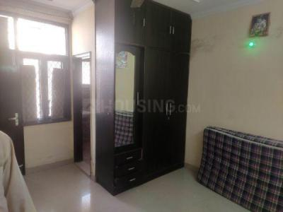 Gallery Cover Image of 550 Sq.ft 1 BHK Independent Floor for rent in Garhi for 15000