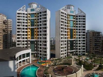 Gallery Cover Image of 1950 Sq.ft 3 BHK Apartment for buy in Concrete Sai Saakshaat Wing E, Kharghar for 22500000
