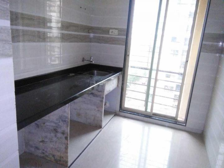 Kitchen Image of 650 Sq.ft 1 BHK Apartment for rent in Kamothe for 13000