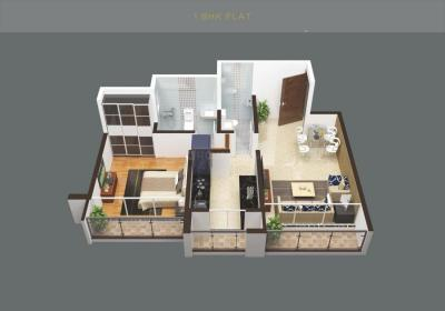 Gallery Cover Image of 532 Sq.ft 1 BHK Apartment for buy in L M Tower, Bhiwandi for 3600000