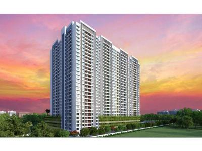 Gallery Cover Image of 1242 Sq.ft 3 BHK Apartment for buy in Shanti Mohan Ganga Asmi, Wakad for 8900000