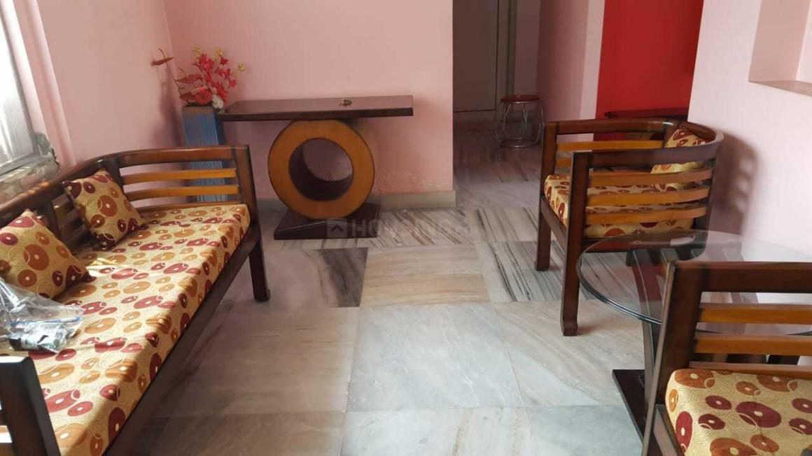 Living Room Image of 1900 Sq.ft 3 BHK Apartment for rent in Gariahat for 55000