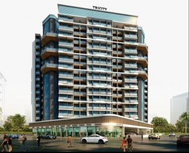Gallery Cover Image of 650 Sq.ft 1 BHK Apartment for buy in Tricity Luxuria, Greater Khanda for 5700000