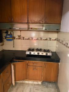 Kitchen Image of Newly Built PG in Patel Nagar
