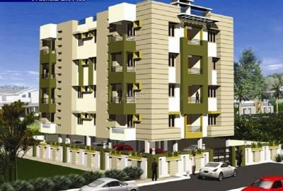 Gallery Cover Image of 675 Sq.ft 2 BHK Apartment for buy in Rajarhat for 1687500