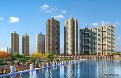 Gallery Cover Image of 820 Sq.ft 2 BHK Apartment for buy in Orovia Phase 1, Thane West for 9400000