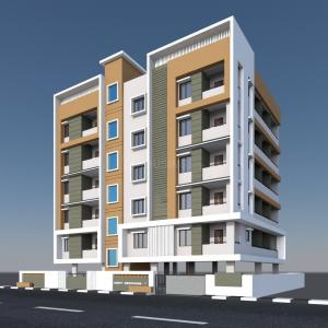 Gallery Cover Image of 1710 Sq.ft 3 BHK Apartment for buy in Madhavadhara for 9000000
