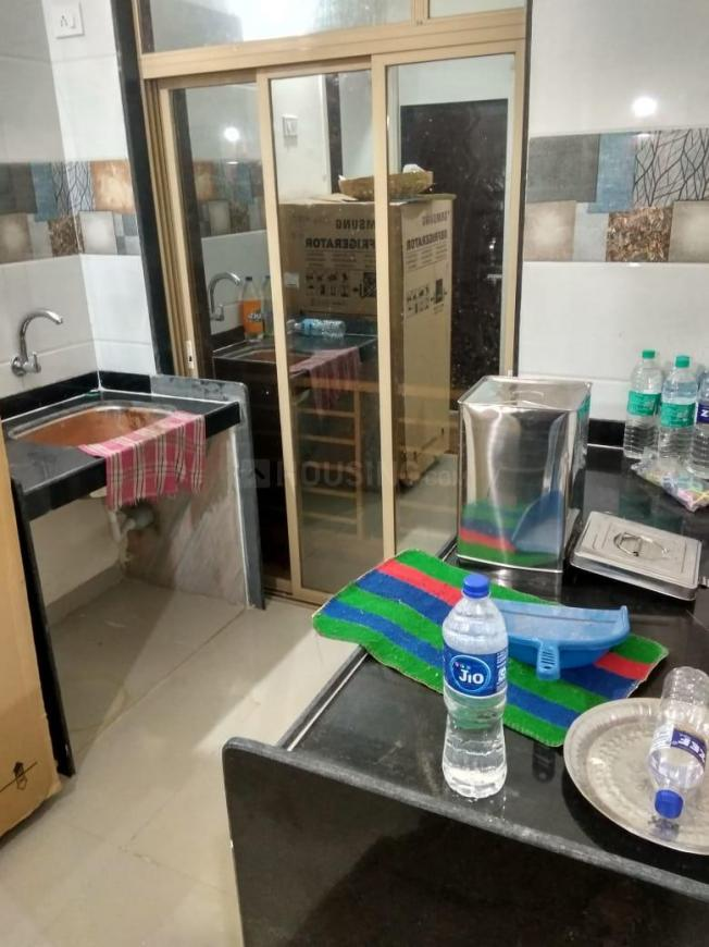 Kitchen Image of 450 Sq.ft 1 BHK Apartment for rent in Titwala for 5000