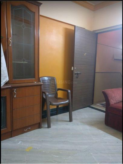 Living Room Image of 600 Sq.ft 1 BHK Apartment for rent in Kharghar for 17000