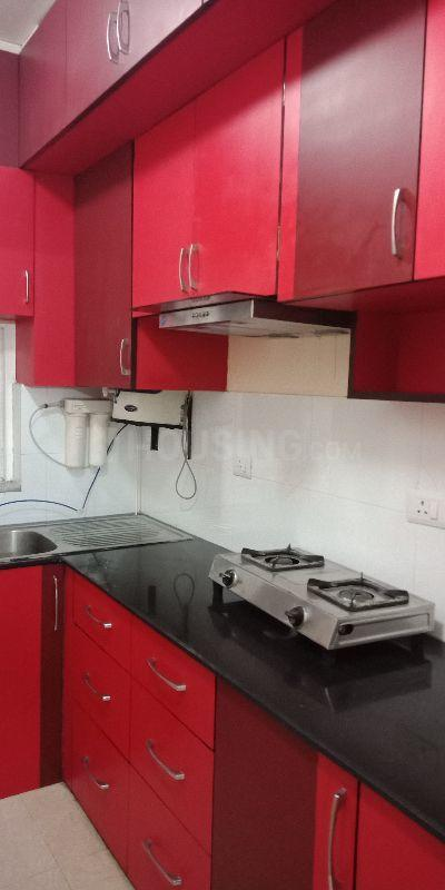 Kitchen Image of 1287 Sq.ft 2 BHK Apartment for rent in New Town for 22000