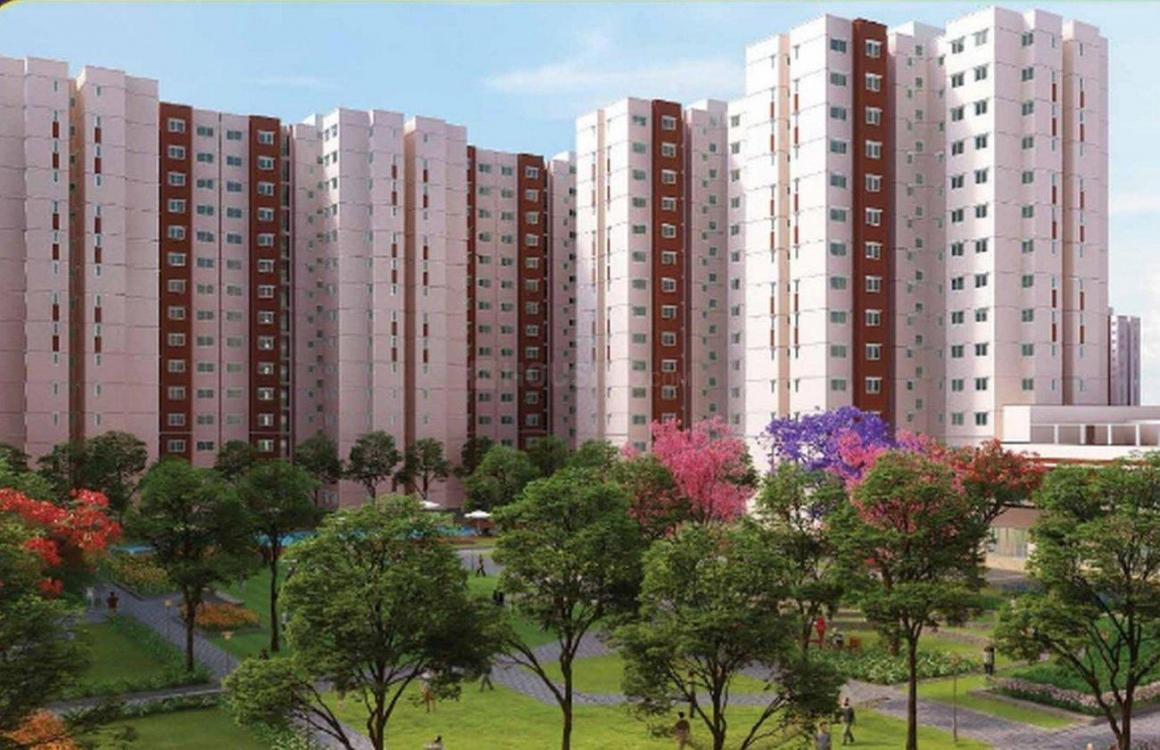 Building Image of 698 Sq.ft 2 BHK Apartment for buy in Attibele for 2198700