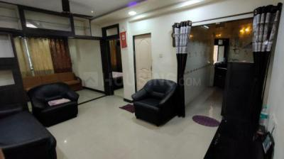 Gallery Cover Image of 600 Sq.ft 1 BHK Apartment for rent in Kailash Nilgiri Gardens, Nerul for 24000