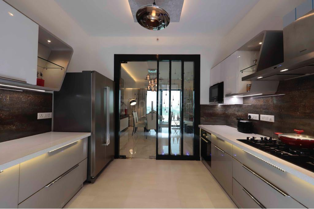 Kitchen Image of 2106 Sq.ft 3 BHK Apartment for buy in Green Field Colony for 15500000