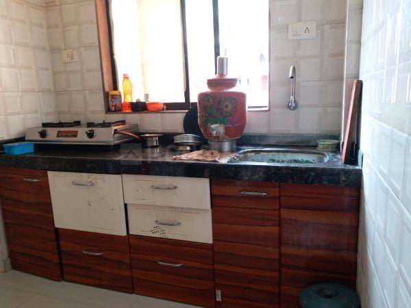 Kitchen Image of 595 Sq.ft 1 BHK Apartment for buy in Raj Shree Nirman Krishna Horizon, Nalasopara West for 1600000