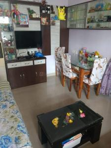 Gallery Cover Image of 550 Sq.ft 1 BHK Apartment for rent in Runwal Runwal Pearl, Thane West for 18000