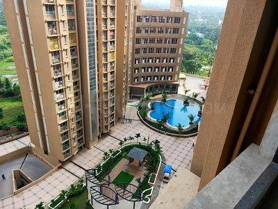 Gallery Cover Image of 602 Sq.ft 1 BHK Apartment for rent in Gurukrupa Marina Enclave, Malad West for 25000