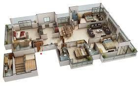 Gallery Cover Image of 2900 Sq.ft 4 BHK Apartment for buy in Navsonarbala Annexe, Bandra West for 90000000