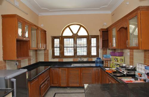 सेक्टर 21 में ललिता हाउस जीएफ़ के किचन की तस्वीर
