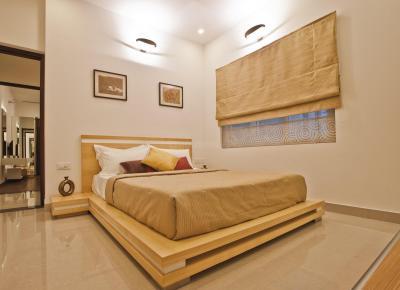 Gallery Cover Image of 580 Sq.ft 1 BHK Apartment for rent in Pragnya Eden Park, Siruseri for 10000