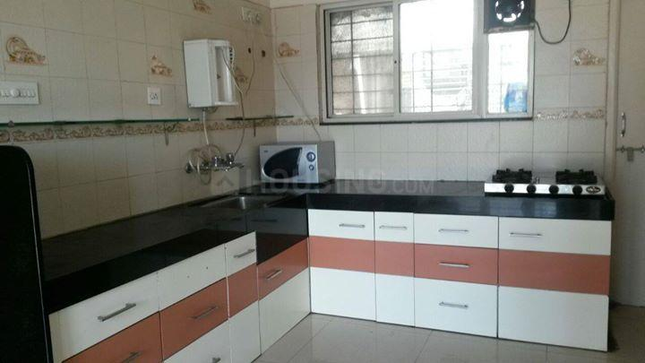 Kitchen Image of 1120 Sq.ft 2 BHK Apartment for rent in Pimple Saudagar for 20000