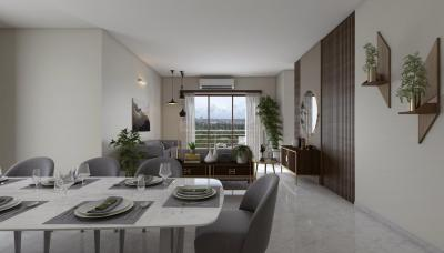 Gallery Cover Image of 1855 Sq.ft 3 BHK Apartment for buy in Godrej Meridien, Sector 106 for 17100000