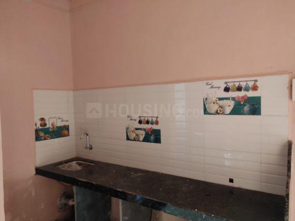 Kitchen Image of 650 Sq.ft 1 BHK Independent Floor for rent in Vasai West for 7300