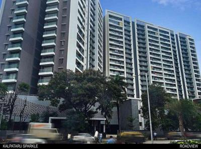 Gallery Cover Image of 1710 Sq.ft 3 BHK Apartment for rent in Kalpataru Sparkle, Bandra East for 171000
