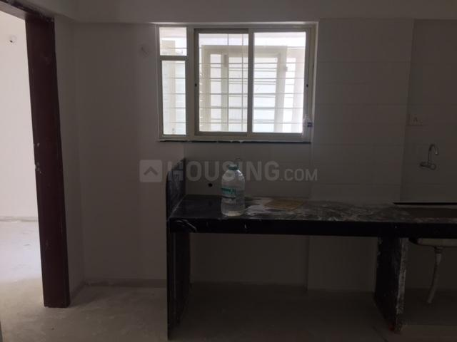 Kitchen Image of 550 Sq.ft 1 BHK Apartment for rent in Bhukum for 6000