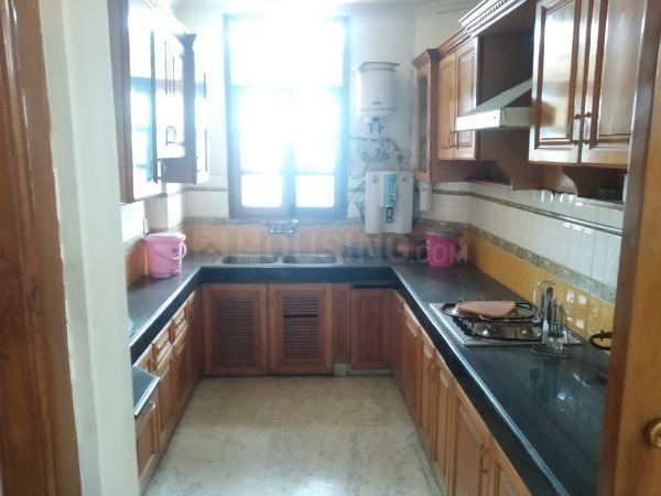 Kitchen Image of 1700 Sq.ft 3 BHK Apartment for rent in Sector 9 Dwarka for 45000
