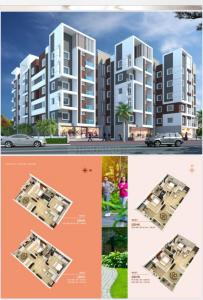 Gallery Cover Image of 1560 Sq.ft 3 BHK Apartment for buy in Akshita Heights 4, Kompally for 8250000