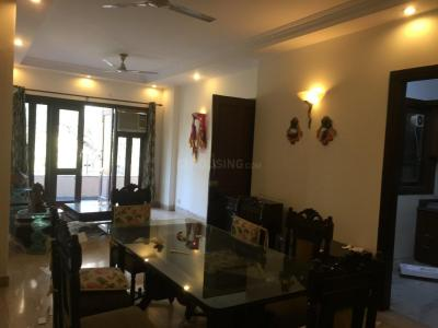 Gallery Cover Image of 1800 Sq.ft 3 BHK Independent Floor for rent in Saket for 80000