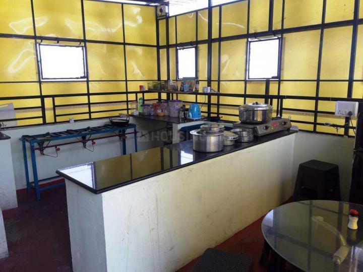 जयानगर में विज़न अकॉमोडेशन पीजी के किचन की तस्वीर
