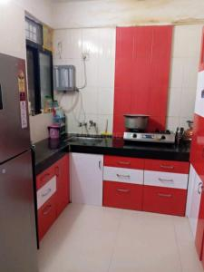 Kitchen Image of 650 Sq.ft 1 BHK Apartment for buy in Mundhwa for 4000000