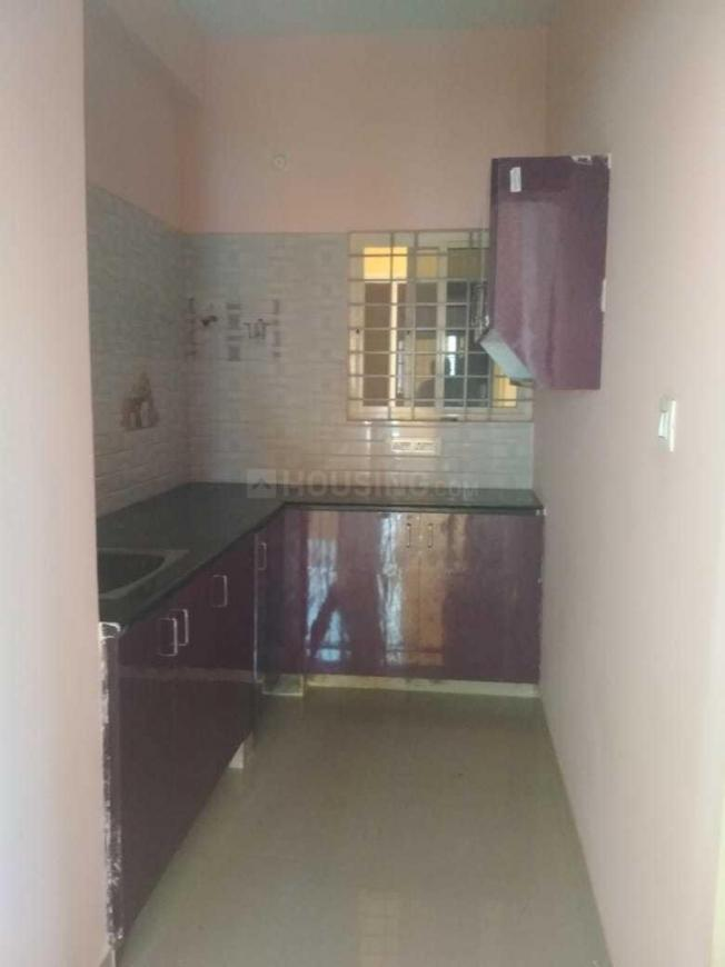 Kitchen Image of 600 Sq.ft 1 BHK Independent Floor for rent in Battarahalli for 8000