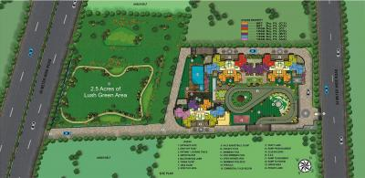Gallery Cover Image of 1292 Sq.ft 3 BHK Apartment for buy in SRPL Flora Heritage, Noida Extension for 4069020
