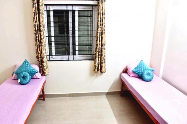 न्यू थिप्पसंदरा में न्यू इग्लोस पीजी के बेडरूम की तस्वीर