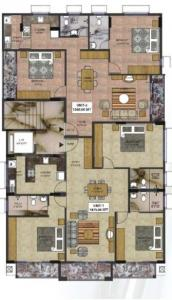 Gallery Cover Image of 1300 Sq.ft 3 BHK Apartment for buy in Banaswadi for 7150000