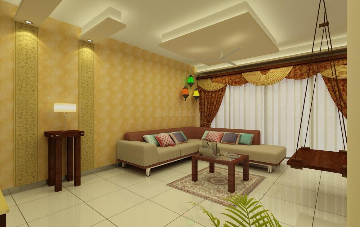Living Room Image of 858 Sq.ft 2 BHK Villa for buy in Whitefield for 4516000