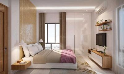 Bedroom Image of 1484 Sq.ft 3 BHK Apartment for buy in Srijan Natura, New Alipore for 8458800