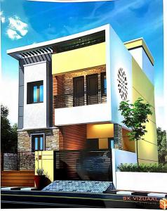 Gallery Cover Image of 1500 Sq.ft 3 BHK Independent House for buy in Madambakkam for 7000000