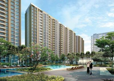 Gallery Cover Image of 1050 Sq.ft 2 BHK Apartment for buy in Sheth Vasant Oasis, Andheri East for 20500000